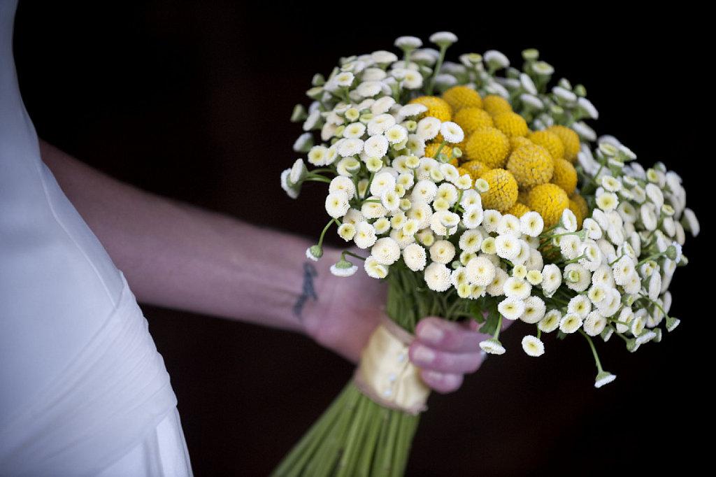 margarita gigante, ramo, bouquet, ramo, novia, margarita, campestre