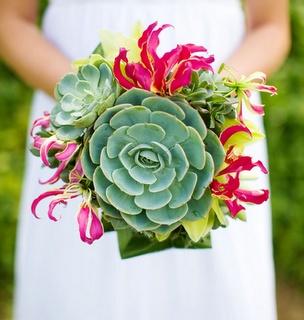 bouquet, ramo, invierno, diferente, novia, original