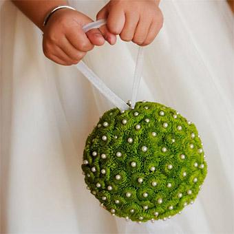 novia, abalorio, adorno, ceremonia, original, diferente