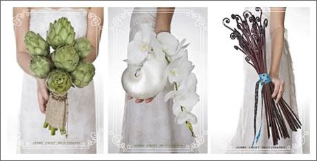 ramos, diferentes, novia, original, unicos