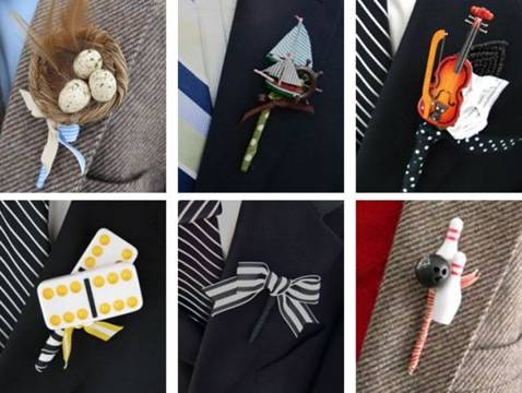 prendidos, novio, padrino, original, ceremonia, boda, divertidos, diferentes, creatividad,