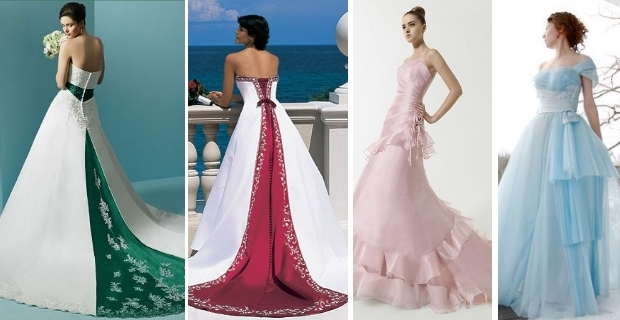 novia, vestido, color, novia moderna, moda nupcial, tendencias, mitos boda, claves boda