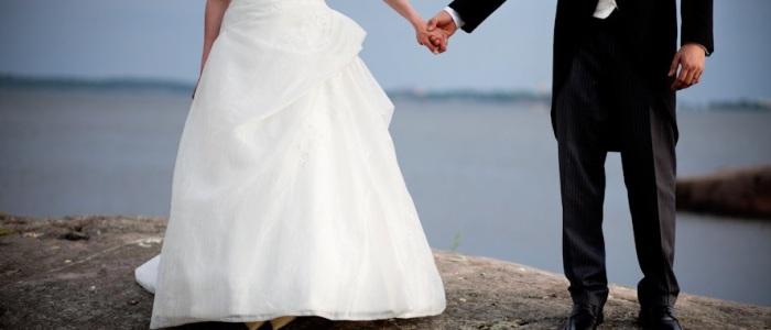 paseo, playa, postboda, novia, vestido, blanco
