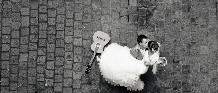 postboda, novios, sevilla, amor, guitarra