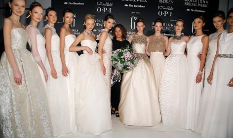 novia, moda, jesus peiro, merche segarra, gaudi, color, movimiento, tejidos, ceremonia,